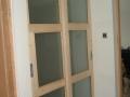 Preprosta drsna vrata za hodnik