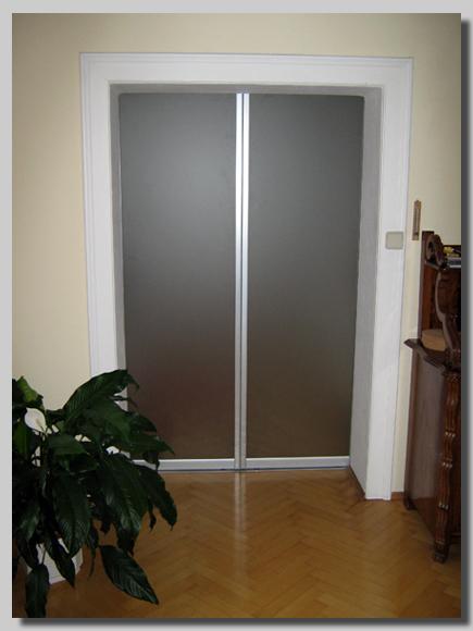 izdelava drsnih vrat za pisarne